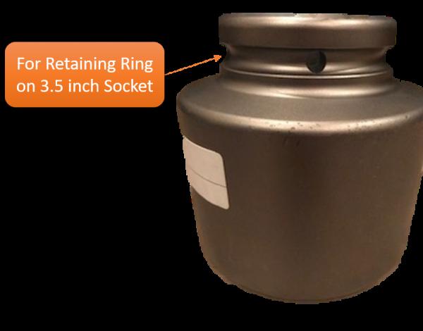 3.5 in Socket-Retaining Ring
