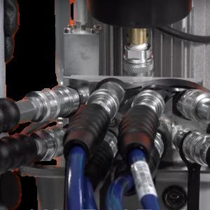 AMG Hyflow Hydraulic Pump 4 Port Manifold