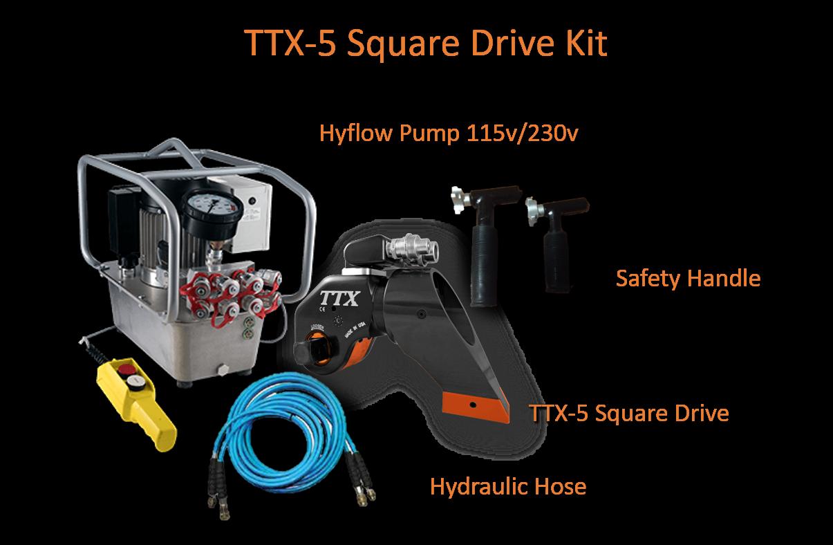 AMG TTX-5 Square Drive Kit